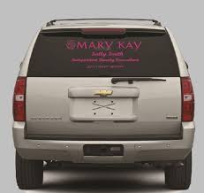 Customized Mary Kay Window Decal By Allaboutpinkboutique On Etsy Car Decals Vinyl Car Decals Car Decals Stickers