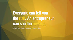 quotes we ure all entrepreneurs u life out pants