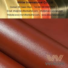 leather like fabric pu faux leather
