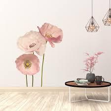 Shop Poppy Anemone Flowers Wall Sticker On Sale Overstock 31633780