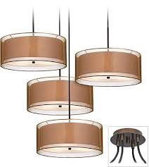 pendant chandelier modern double shade
