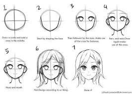 draw anime step by step tutorials