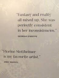 quotes from other artists about florine stettheimer downtown