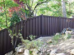 Sloping A Trex Fence Trex Fencing The Composite Alternative To Wood Vinyl