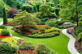 victoria with butchart gardens