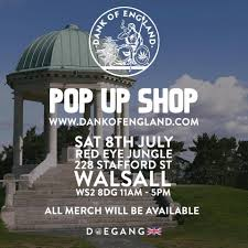 DankOfEngland Pop up shop in #Walsall ...