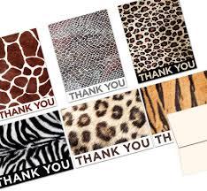 Amazon Com 72 Tarjetas De Agradecimiento Animal Imprimir