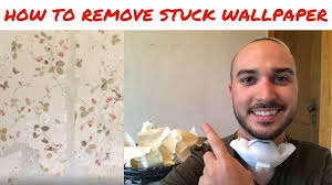 how to remove stuck wallpaper you
