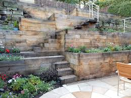 steep slope garden designs garden
