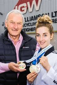 Adele aims for Olympics - with grandad's help