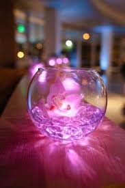 led light gel crystals and flower