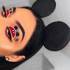 cute mickey mouse disney makeup