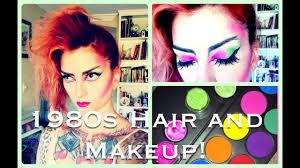 1980s punk hair makeup
