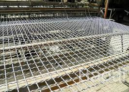 Decorative Aluminum Crimped Woven Wire Screen For Building Construction