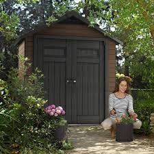 slimline composite garden sheds