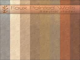playful s faux painted walls