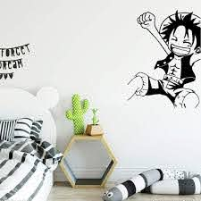 Amazon Com Giaou Wall Sticker Quotes Decals Decor Vinyl Art Stickers One Piece Luffy Decoration Fashion Sticker For Kids Rooms Decal Home Kitchen
