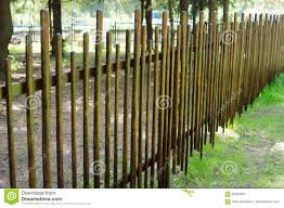 Wooden Fence Of Sticks And Rods A Hedge Of Branches Texture An Stock Image Image Of Ethnic Hedge 93358541