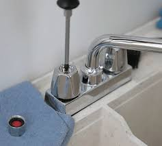 faucet leaking at handle kitchen