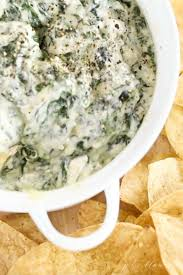 creamy spinach dip with cream cheese