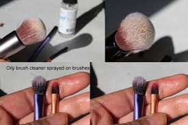 onesque makeup brush cleanser review