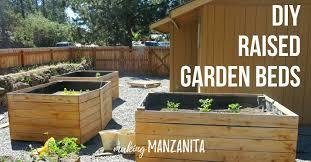 diy raised garden beds using cedar