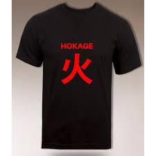Áo thun họa tiết Hokage Naruto thời trang cho nam