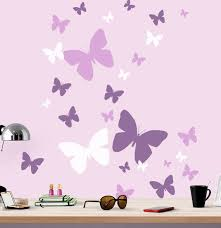 Butterfly Wall Decals Llw Girls Room Wall Decor Decals Kids Etsy