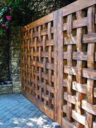 17 Lattice Fence Examples Awesome Ways To Use Wood Fence Design Privacy Fence Designs Rustic Fence