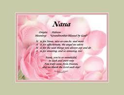 nana poem birthday best happy