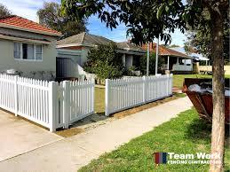 Pvc Vinyl Fencing Perth Wa Pvc Fence Vinyl Fencing