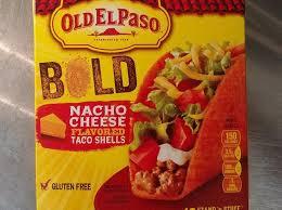 old el paso bold y cheddar flavored