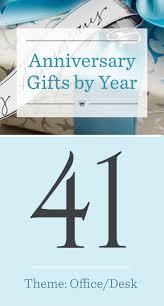 41st wedding anniversary gifts