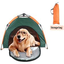 Collapsible Pet Dog Fence Tent Waterproof Portable Folding Dogs Camping Tents House Detachable Puppy Kennel Outdoor Cage Houses Kennels Pens Aliexpress