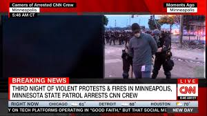 CNN reporter arrested live on ...