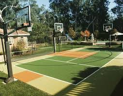 Design Ideas Backyard Basketball Court Allsport America Inc