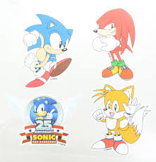 Sonic The Hedgehog Vinyl Stickers Set Of 4 Walmart Com Walmart Com