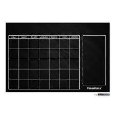 Chalkboard Wall Calendar Versachalk
