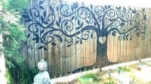 outdoor metal art large artwork wall