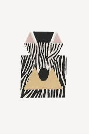 Children S Floor Rug Zebra Hygge Life
