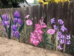 Fence Ideas Diy Garten Garden Fence Art Garden Mural Fence Art