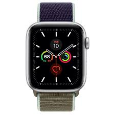 Apple Watch Series 5 GPS, 44mm Silver ...