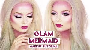 easy glam mermaid makeup tutorial