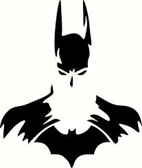 Batman Silhouette Vinyl Decal Graphic Choose Your Color And Size Batman Silhouette Batman Art Batman