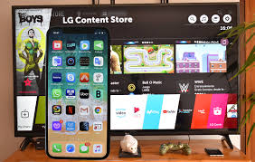mirror your iphone to an lg smart tv
