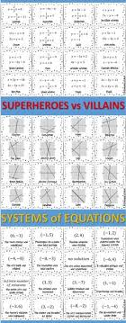 100 systems of equations ideas