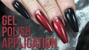 how to correctly apply gel polish
