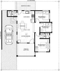 bungalow floor plans simple house design