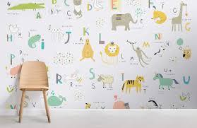 Kids Alphabet Wallpaper Mural Murals Wallpaper