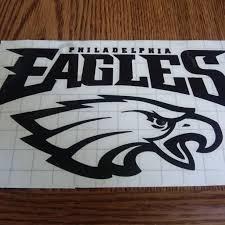 Philadelphia Eagles Vinyl Car Decal We Make All Of Depop